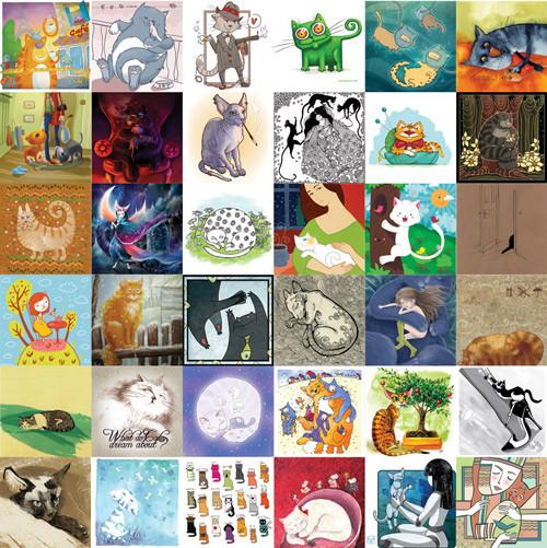Kvaa Cards: авторские открытки иконкурсы. Изображение № 22.