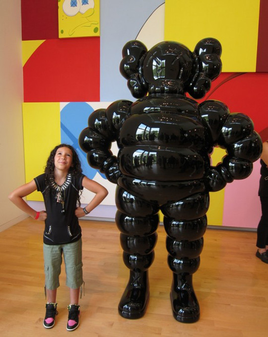 Выставка художника и дизайнера KAWS. Изображение № 4.