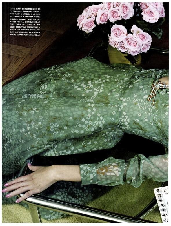 Съёмка: Бьянка Балти для итальянского Vogue. Изображение № 5.