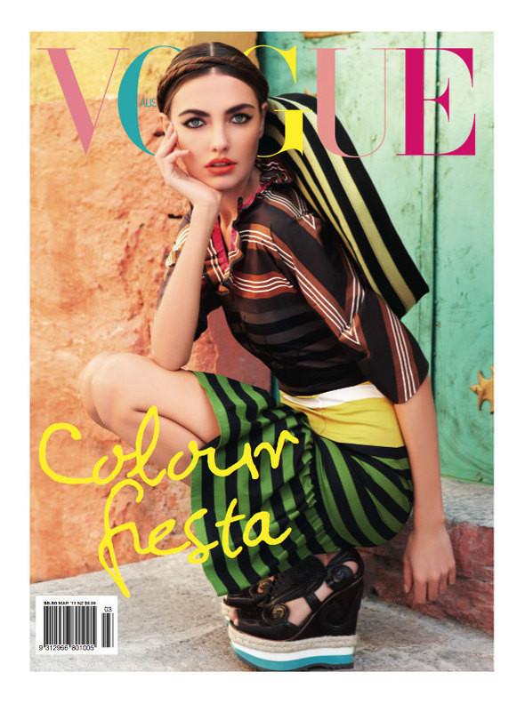 Изображение 4. Обложки Vogue: Британия, Австралия и другие.. Изображение № 3.