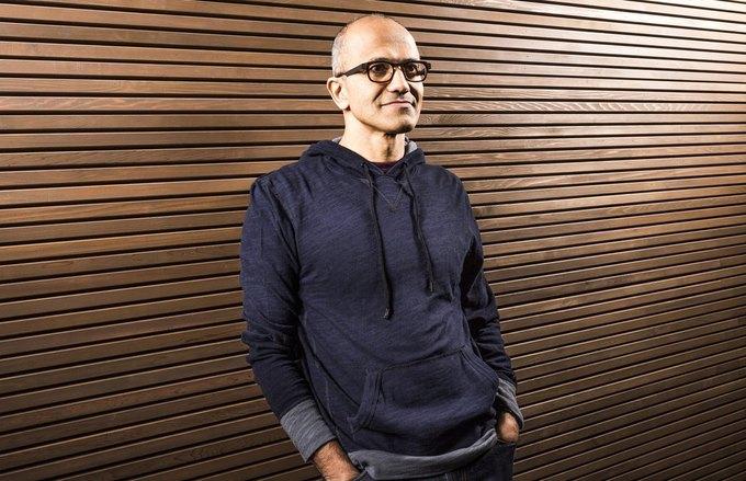 Генеральный директор Microsoft Сатья Наделла. Изображение № 1.