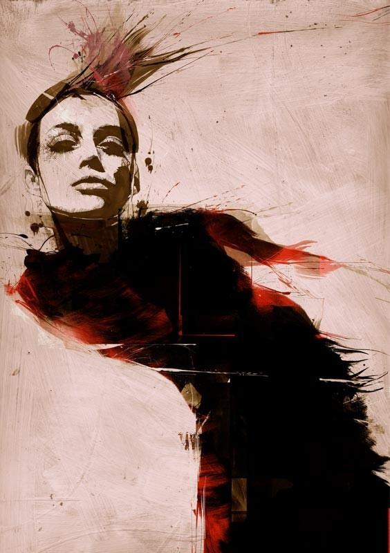 Russ Mills : графика, фотография и живопись. Изображение № 7.