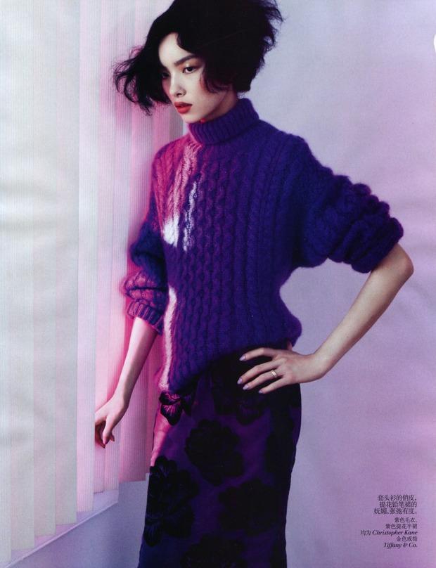 Новые съемки Dazed & Confused, Vogue, Pop и Madame Figaro. Изображение № 7.