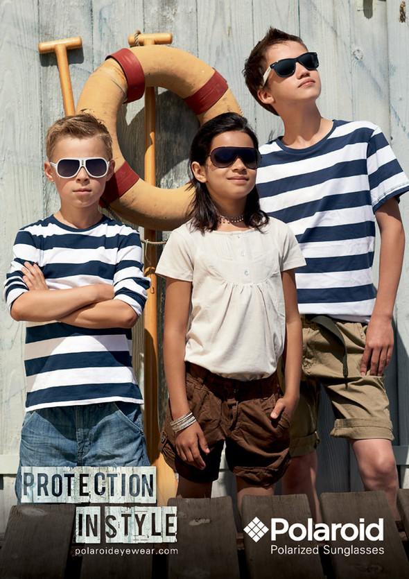 Детские солнцезащитные очки от Polaroid. Изображение № 1.