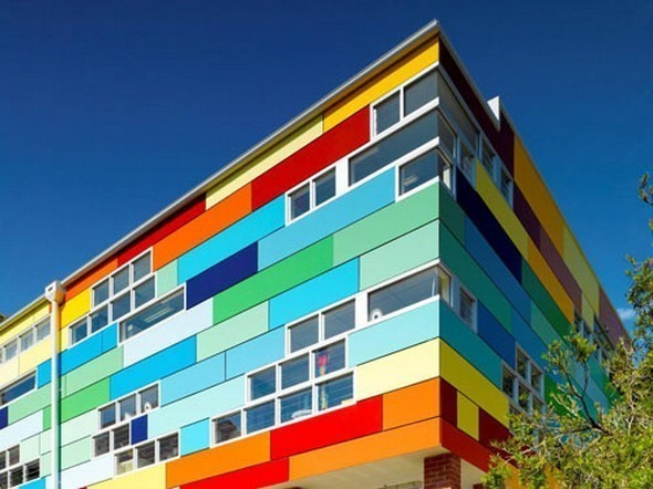 Изображение 2. Разноцветная школа от австралийских архитекторов.. Изображение № 2.