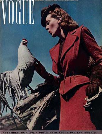 Как менялся Vogue. Изображение № 7.