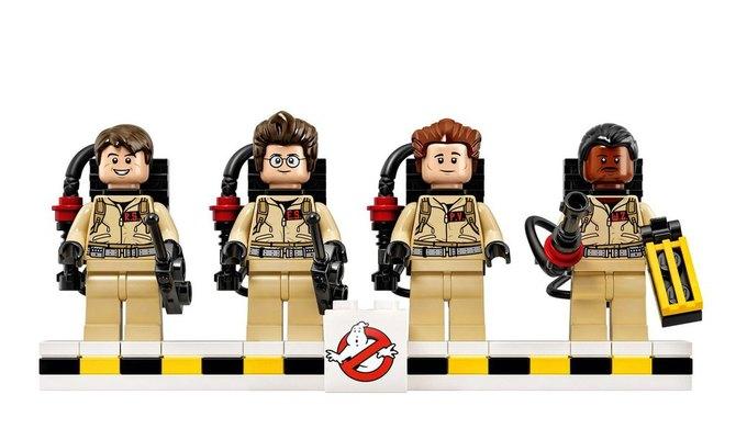 Опубликованы первые фотографии набора «Охотников за привидениями» LEGO. Изображение № 1.
