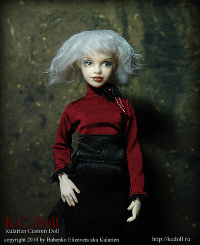 K.C.Doll. Миниатюра на шарнирах. Изображение № 9.