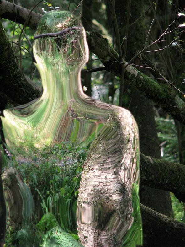 Скульптуры-призраки в шотландском лесу. Изображение № 4.