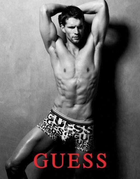 Кампания: Guess Underwear FW2011. Изображение № 4.