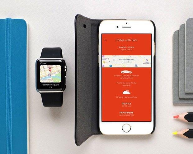 Moleskine выпустил календарь для iPhone и Watch. Изображение № 6.