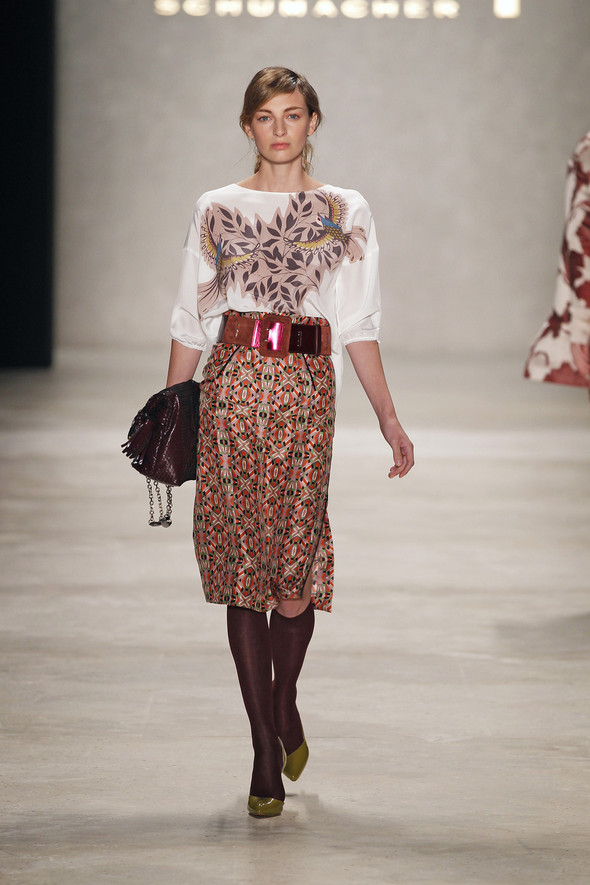 Berlin Fashion Week A/W 2012: Schumacher. Изображение № 3.