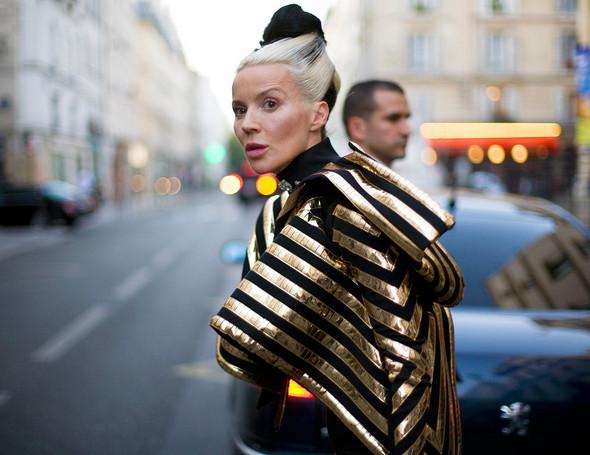 Street Style: Paris Fashion Week. Изображение № 10.