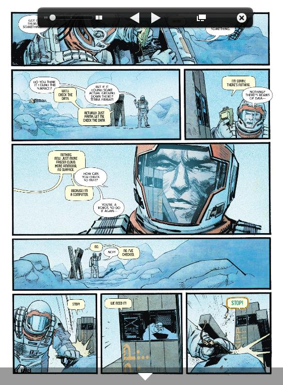 В Сеть выложили комикс-приквел к «Интерстеллару». Изображение № 4.