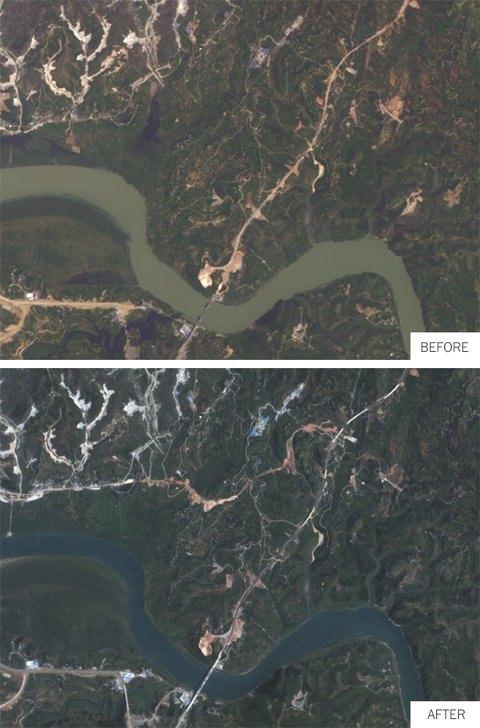 Переправа через реку Хань (Китай) 2013 и 2014 годы. Изображение № 3.