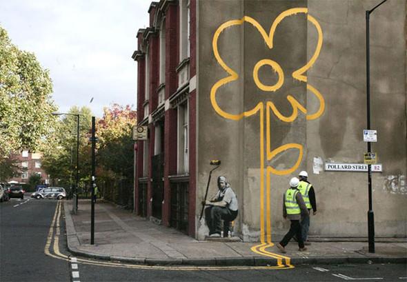 Большая коллекция уличного искусства. Изображение № 58.