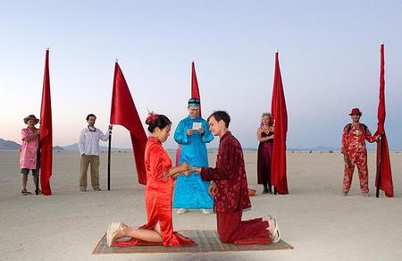 """Фестиваль """"Burning Man! """" вНеваде. Изображение № 29."""