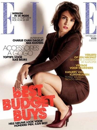 Обложки октября: Elle, Marie Claire, Interview и другие. Изображение № 3.