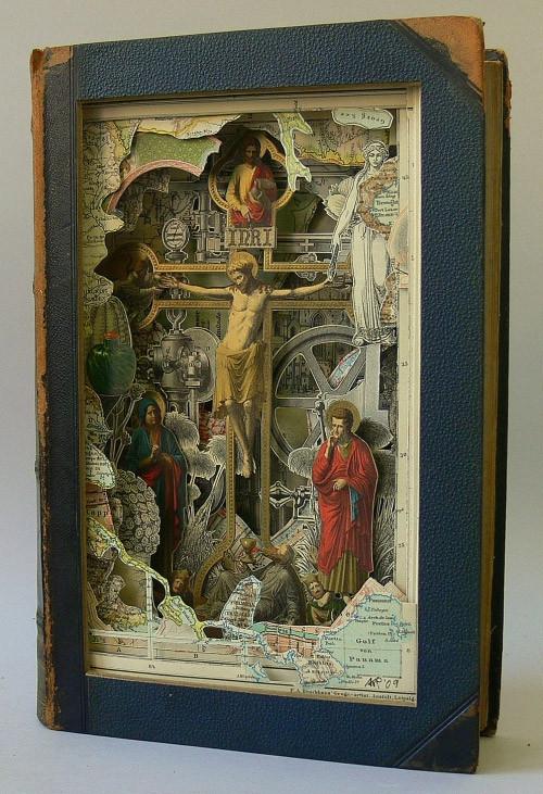Книжные работы Alexander Korzer-Robinson. Изображение № 26.