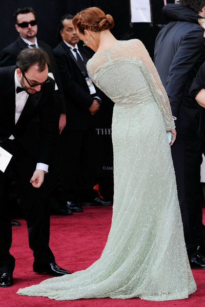 «Оскар»-2012: Красная дорожка. Изображение № 27.