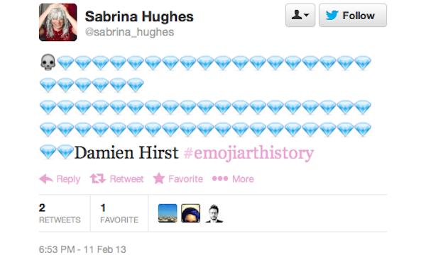 В Twitter появился тег #EmojiArtHistory. Изображение № 6.