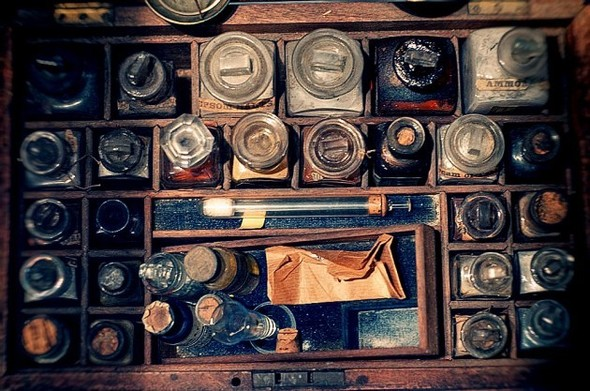 Аптека - музей в Новом Орлеане. Изображение № 6.