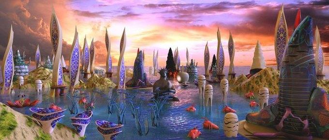 Российские музыканты записали саундтрек для сипанк-игры про дельфина. Изображение № 4.