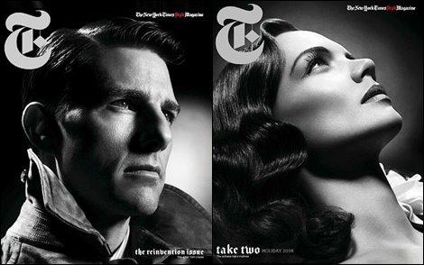 Кэти Холмс иТом Круз дляT Style Magazine (NY Times. 2008). Изображение № 1.