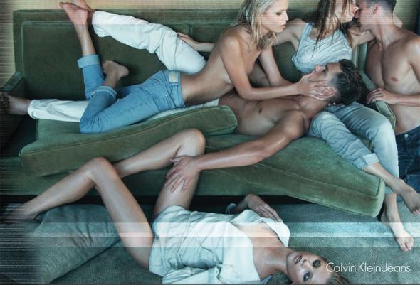 Запрещенная реклама Calvin Klein Jeans. Изображение № 1.