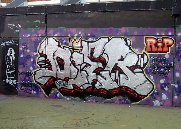 Стрит-арт в Лондоне. Изображение № 23.