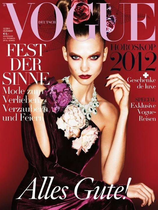 Обложки Vogue: Америка, Германия и Китай. Изображение № 2.