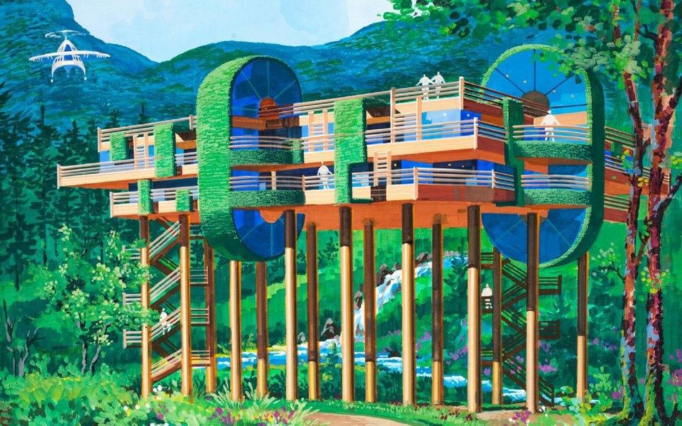 Какой видят архитектуру будущего  в Северной Корее . Изображение № 7.