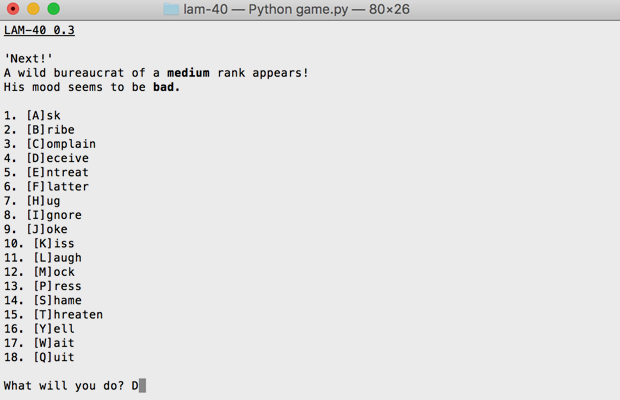 Я пишу текстовую игру на Python: элемент случайности. Изображение № 3.