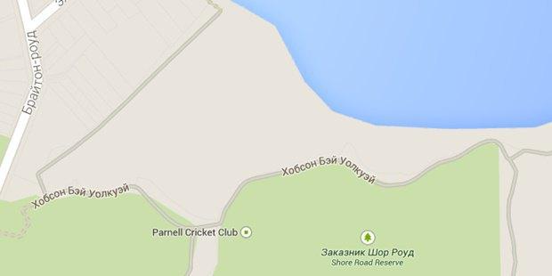 В Google Maps появился гигантский кот. Изображение № 2.