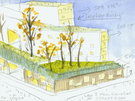 Архитектурные акварели стивена холла. Изображение № 30.