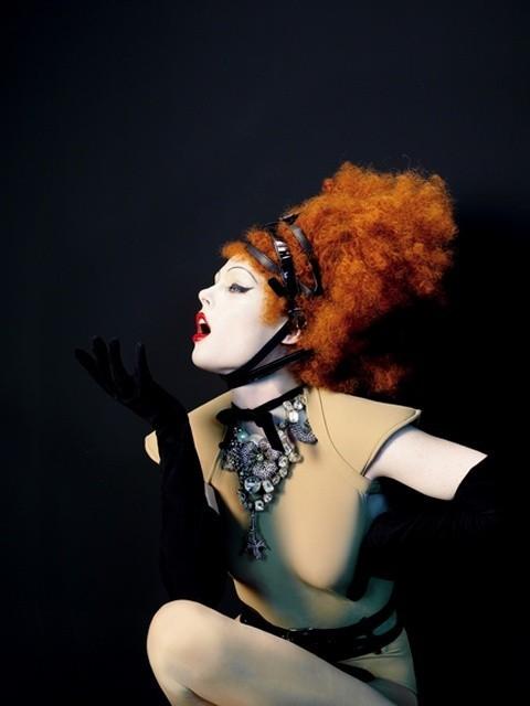 Coco Rocha by Sophie Delaporte forLes Echos. Изображение № 1.