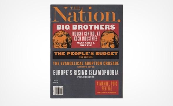 Самые красивые обложки журналов в 2011 году. Изображение № 55.