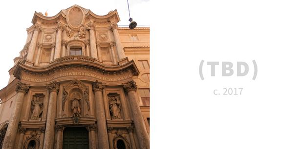 Сан-Карло алле Куатро Фонтане (1638) и TBD (2017). Изображение № 6.
