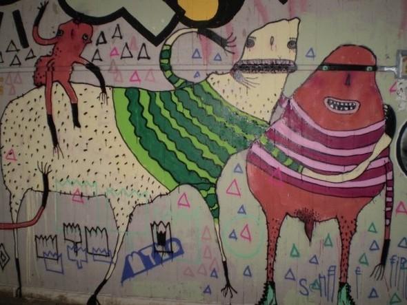 Изображение 9. Берлин: музыкальные фестивали, граффити, места.. Изображение № 12.