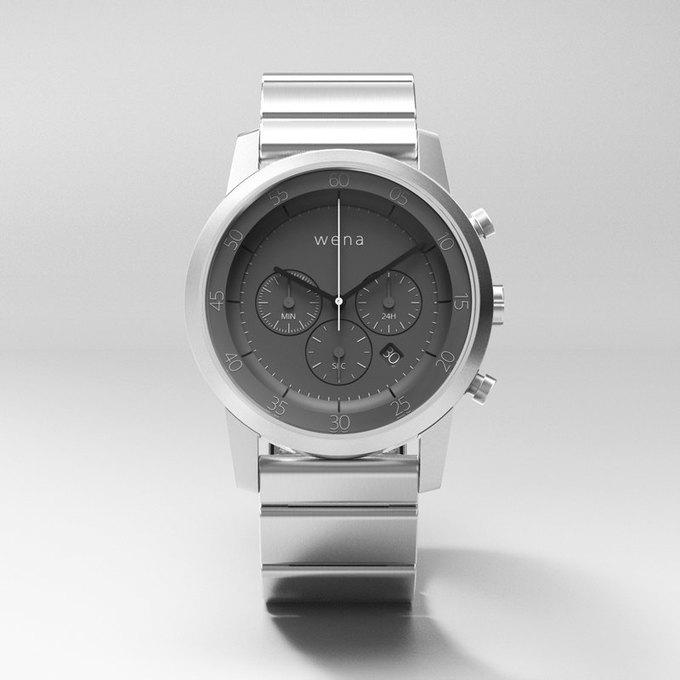 Sony начала сбор средств на выпуск смарт-часов Wena . Изображение № 5.