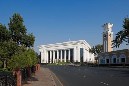 ПРОЕКТ: Дворец в Ташкенте. «Международный дом форумов». Изображение № 1.