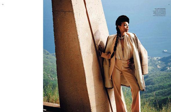 Изображение 12. Съёмки: Harper's Bazaar, Vogue, W и другие.. Изображение № 12.