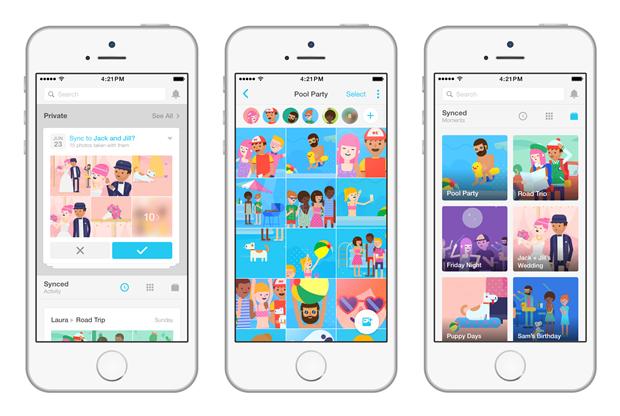 Facebook Creative Labs издало приложение для обмена фото. Изображение № 3.