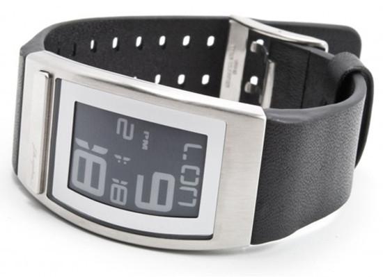 Часы Phosphor WORLD TIME с дисплеем из электронной бумаги. Изображение № 2.