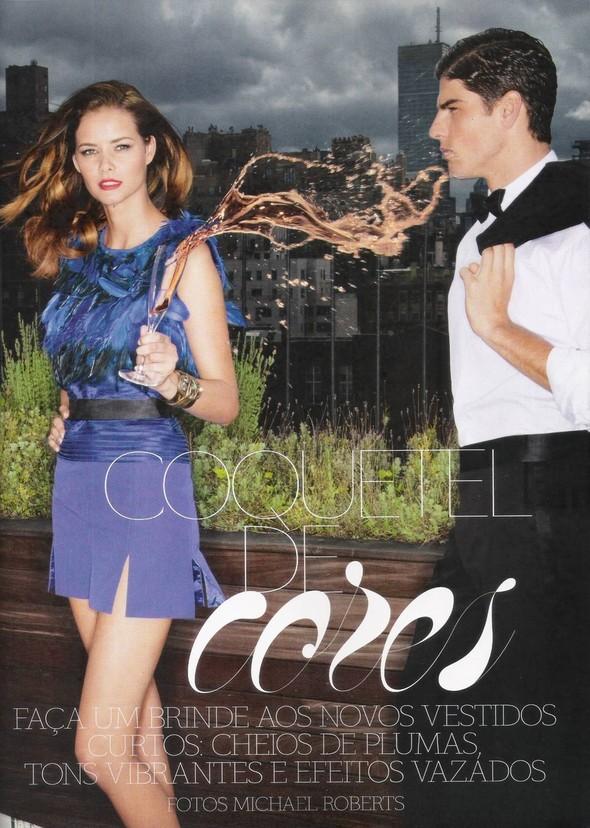 Съёмка: Алессандра Амброзио, Эмануэла де Паула и другие для Vogue. Изображение № 1.