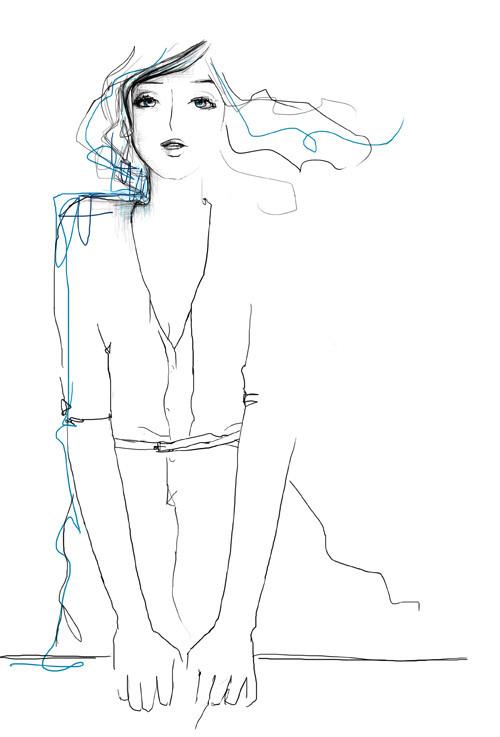 Зарисовки, вкоторых воплощена настоящая женственность. Изображение № 5.