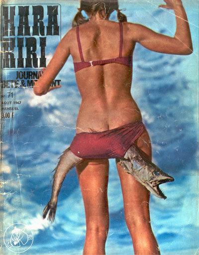 «Глупый излой» журнал Hara Kiri. Изображение № 5.