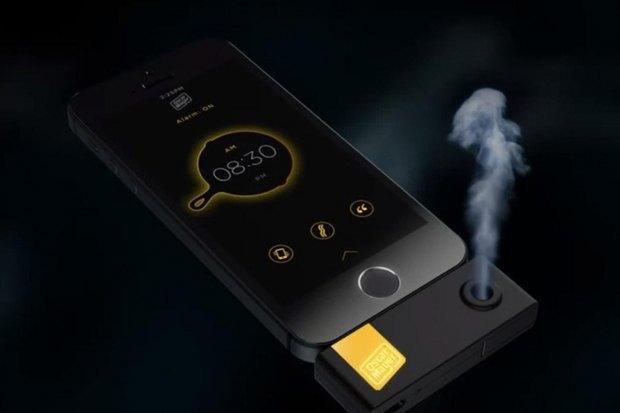 iOS-девайс разбудит пользователя запахом бекона. Изображение № 1.