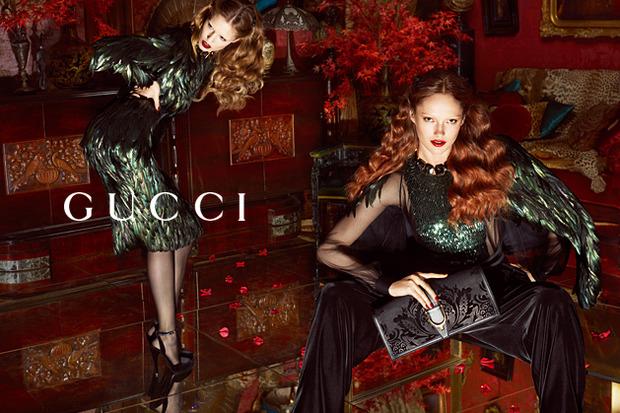 Вышли новые кампании Gucci, Eleven Paris, Forever 21, Moschino и Tomboy. Изображение № 27.
