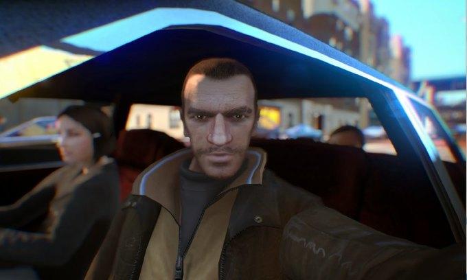 Мод позволяет делать селфи в GTA IV . Изображение № 6.